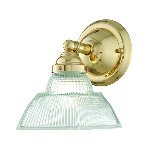 Hudson Valley Lighting Sconce with Clear Glass in Old Bronze Finish 4511-OB