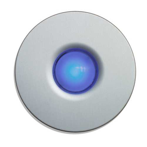 Spore Lighted Surface Mount Doorbell Button DBD-B-S