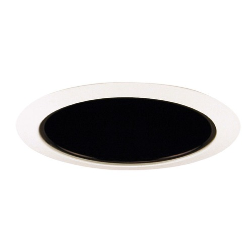 Juno Lighting Group Black Tapered Cone for 6-Inch Recessed Housings 27 BWH