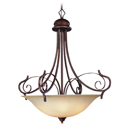 Craftmade Lighting Craftmade Preston Place Augustine Pendant Light with Bowl / Dome Shade 21735-AGT