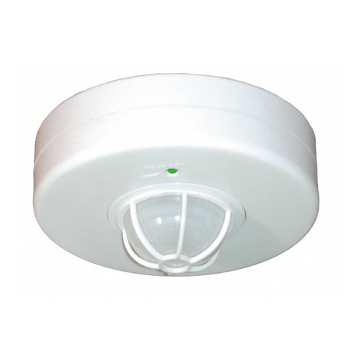 RAB Electric Lighting Vacancy and Occupancy Sensor in White Finish - 1500W LOS2500/277