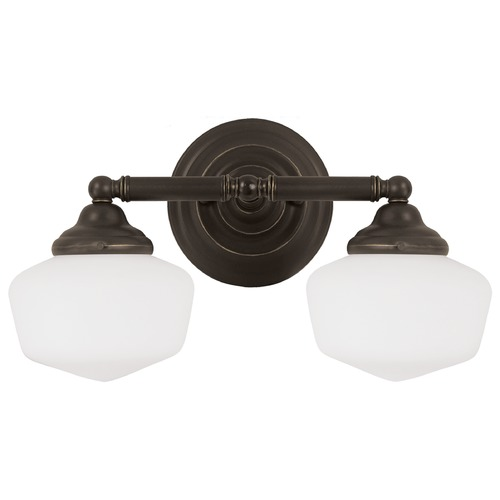 Sea Gull Lighting Sea Gull Lighting Academy Heirloom Bronze Bathroom Light 44437-782