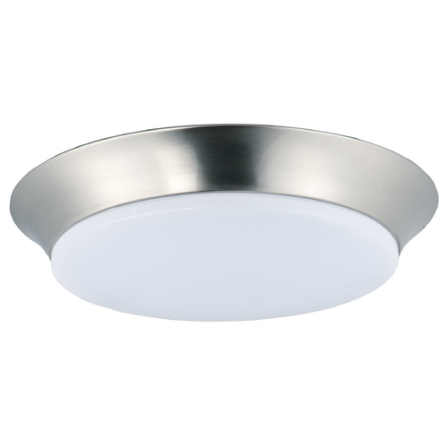Maxim Lighting Maxim Lighting Profile Ee Satin Nickel Flushmount Light 87595WTSN