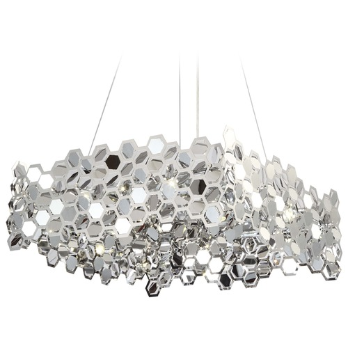 Avenue Lighting Avenue Lighting Lexington Ave. Chrome S LED Pendant Light HF-1713-CH
