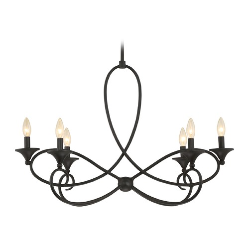 Quoizel Lighting Quoizel Capri Imperial Bronze Mini-Chandelier CP5006IB