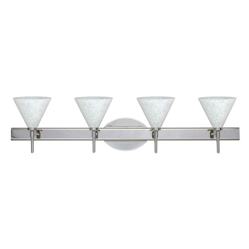 Besa Lighting Besa Lighting Kani Chrome LED Bathroom Light 4SW-512119-LED-CR