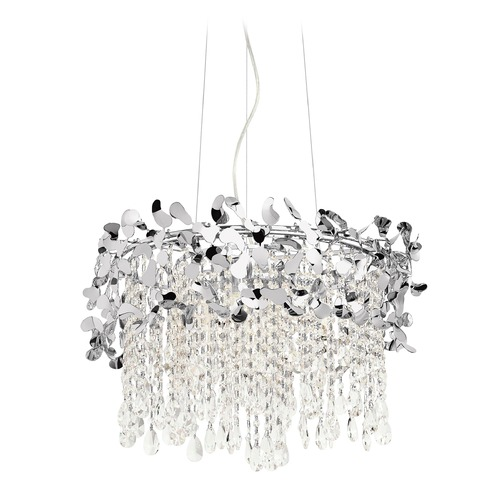 Elan Lighting Elan Lighting Alexa Chrome Pendant Light 83568