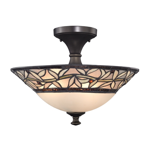 Design Classics Lighting Tiffany Ceiling Light  1623 TB