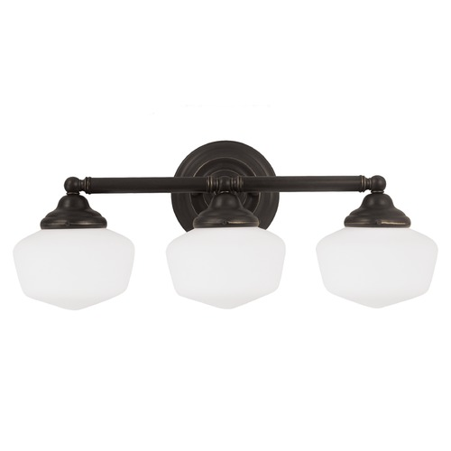 Sea Gull Lighting Sea Gull Lighting Academy Heirloom Bronze Bathroom Light 44438-782
