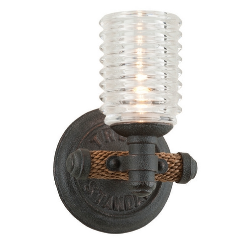 Troy Lighting Troy Lighting Embarcadero Shipyard Bronze Sconce B4151