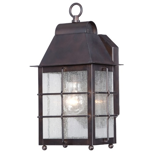 Minka Lighting Minka Lighting Willow Pointe Chelesa Bronze Outdoor Wall Light 73091-189