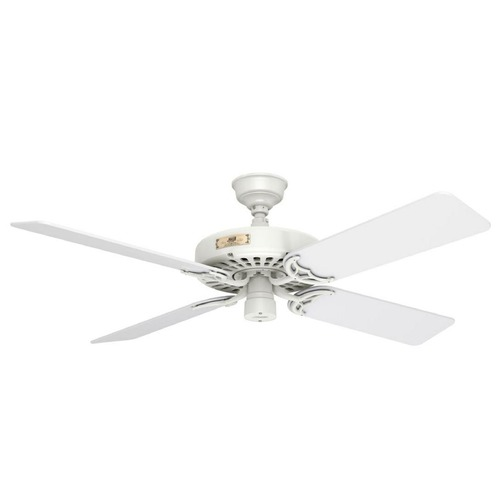 Hunter Fan Company Hunter Fan Company Original White Ceiling Fan Without Light 23845