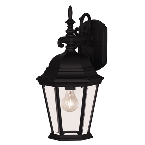 Savoy House Savoy House Black Outdoor Wall Light 07077-BLK