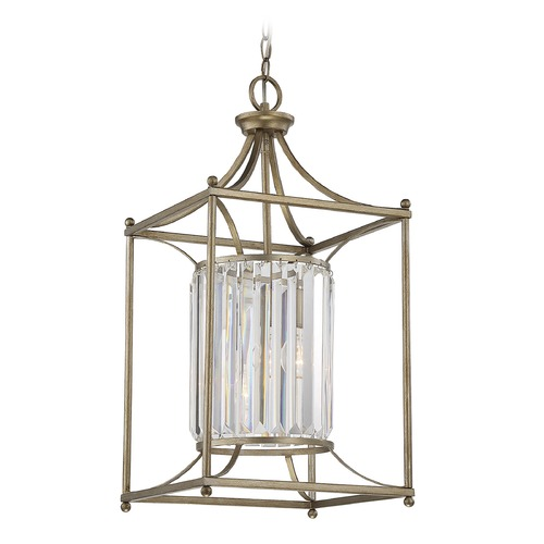 Savoy House Savoy House Lighting Fenton Argentum Pendant Light with Cylindrical Shade 3-3035-1-211