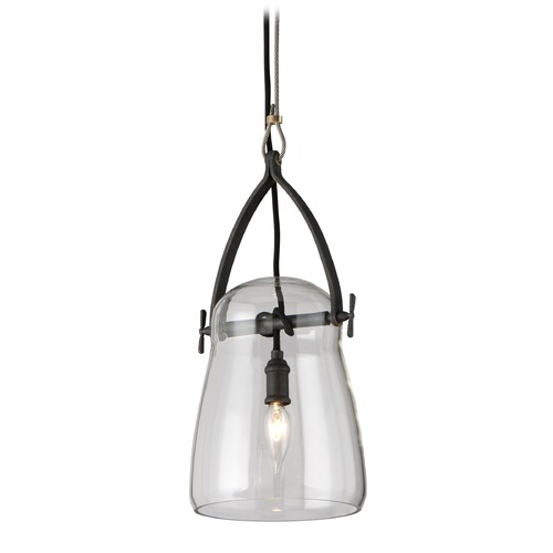 Troy Lighting Troy Lighting Silverlake French Iron Mini-Pendant Light with Bowl / Dome Shade F5224