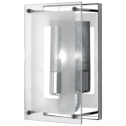 Lite Source Lighting Lite Source Lighting Wick Chrome Sconce LS-1385C/CLR