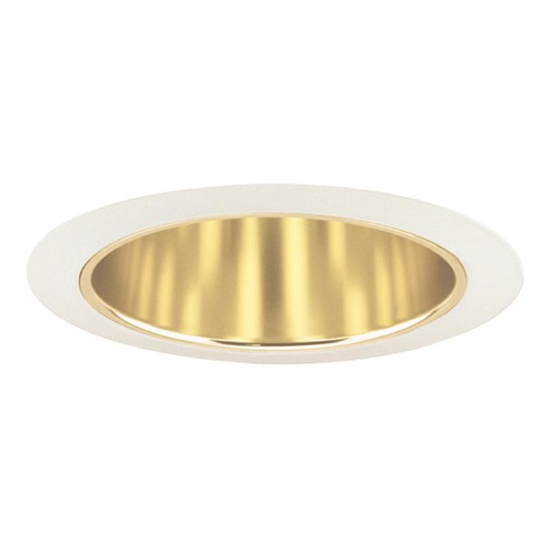 Juno Lighting Group Gold Tapered Cone for 6-Inch Recessed Housings 27 GWH