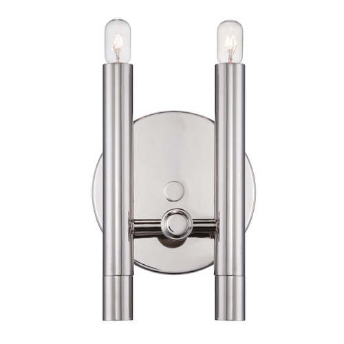 Nuvo Lighting Sconce Wall Light in Polished Nickel Finish 60/5341