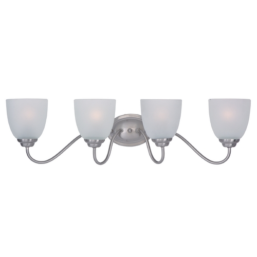 Maxim Lighting Maxim Lighting Stefan Satin Nickel Bathroom Light 10074FTSN