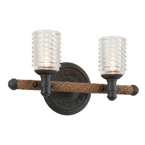 Troy Lighting Troy Lighting Embarcadero Shipyard Bronze Bathroom Light B4152