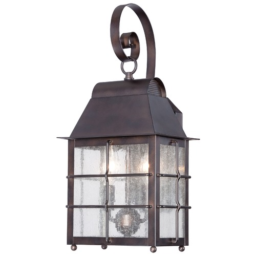 Minka Lavery Minka Lighting Willow Pointe Chelesa Bronze Outdoor Wall Light 73092-189