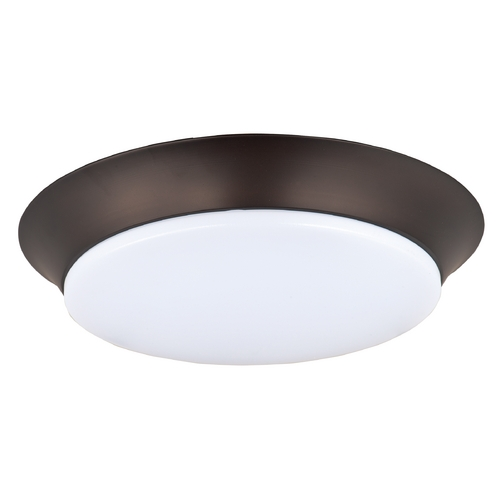Maxim Lighting Maxim Lighting Profile Ee Bronze LED Flushmount Light 87597WTBZ