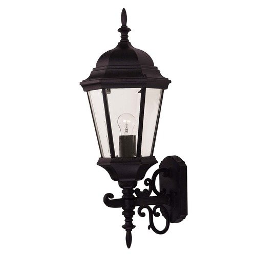 Savoy House Savoy House Black Outdoor Wall Light 07078-BLK