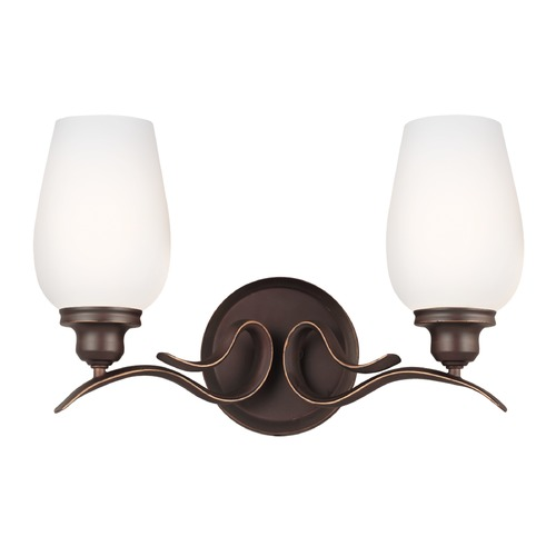 Feiss Lighting Feiss Lighting Standish Oil Rubbed Bronze with Highlights Bathroom Light VS21302ORBH