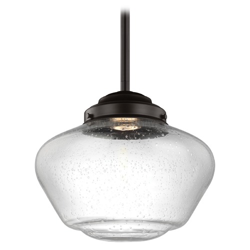 Feiss Lighting Feiss Lighting Alcott Oil Rubbed Bronze LED Pendant Light P1386ORB-LED