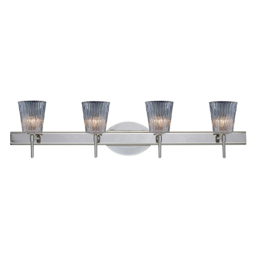 Besa Lighting Besa Lighting Nico Chrome LED Bathroom Light 4SW-512500-LED-CR