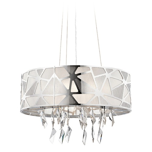 Elan Lighting Elan Lighting Angelique Chrome Pendant Light 83584