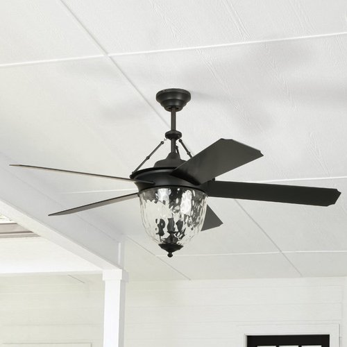 Craftmade Lighting Craftmade Cavalier Aged Bronze Brushed Ceiling Fan with Light CAV52ABZ5LK