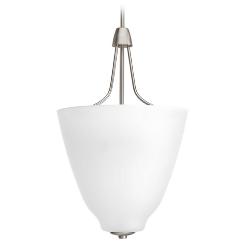 Progress Lighting Progress Lighting Asset Brushed Nickel Pendant Light P3961-09