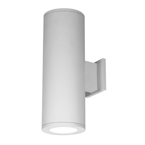 WAC Lighting 6-Inch White LED Tube Architectural Up and Down Wall Light 2700K 4450LM DS-WD06-F27B-WT