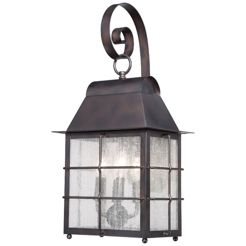 Minka Lighting Minka Lighting Willow Pointe Chelesa Bronze Outdoor Wall Light 73093-189