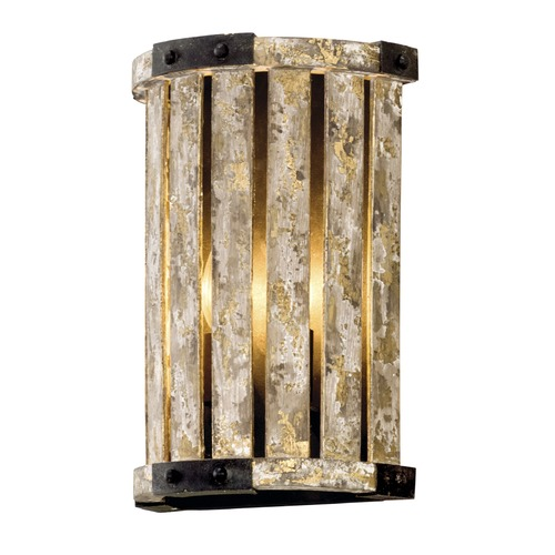 Troy Lighting Troy Lighting Stix Antique Gold Leaf Sconce B5331