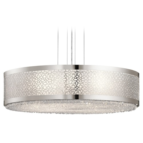 Elan Lighting Elan Lighting Massimo Polished Nickel Pendant Light 83683