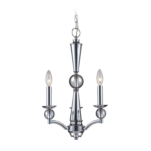 Elk Lighting Mini-Chandelier in Polished Chrome Finish 31287/3