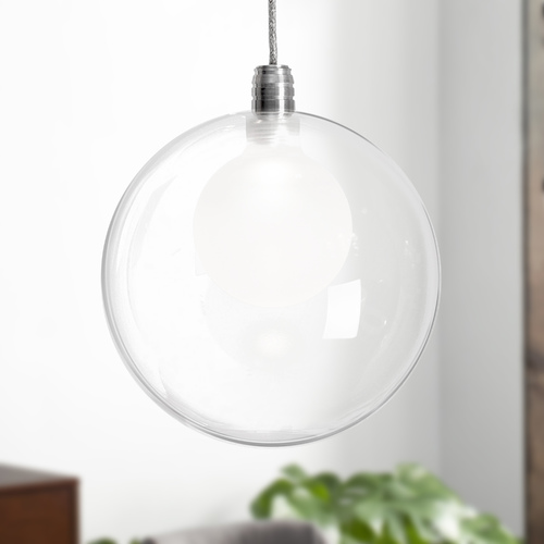 Kuzco Lighting Chrome LED Mini-Pendant by Kuzco Lighting PD3106