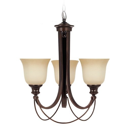 Sea Gull Lighting Sea Gull Lighting Park West Burnt Sienna Chandelier 31496-710