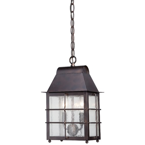 Minka Lavery Minka Lighting Willow Pointe Chelesa Bronze Outdoor Hanging Light 73094-189