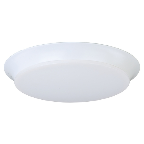 Maxim Lighting Maxim Lighting Profile Ee White LED Flushmount Light 87597WTWT