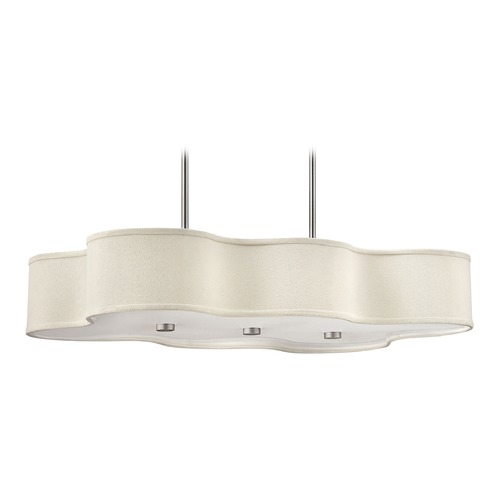 Hinkley Lighting Hinkley Lighting Cirrus Brushed Nickel Chandelier 3802BN-GU24