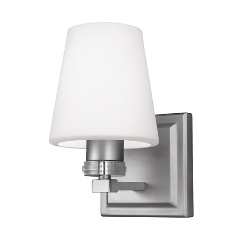 Feiss Lighting Feiss Lighting Rouen Satin Nickel Sconce VS22201SN