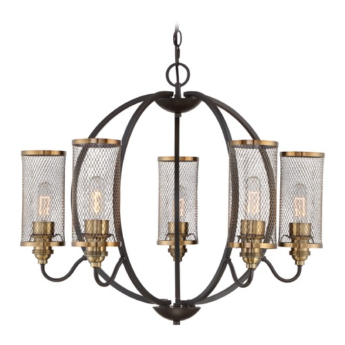 Quoizel Lighting Quoizel Lighting Denton Western Bronze Chandelier DTN5005WT