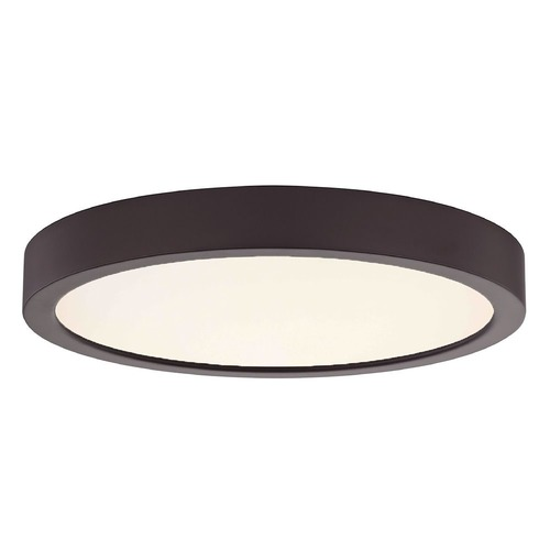 Design Classics Lighting Flat LED Light Surface Mount 8-Inch Round Bronze 2700K 1199LM 8279-BZ T16