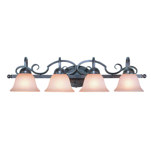 Jeremiah Lighting Jeremiah Sheridan Forged Metal Bathroom Light 22004-FM