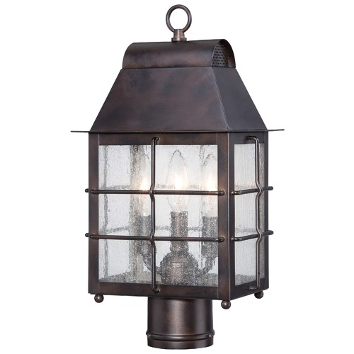 Minka Lavery Minka Lighting Willow Pointe Chelesa Bronze Post Light 73096-189