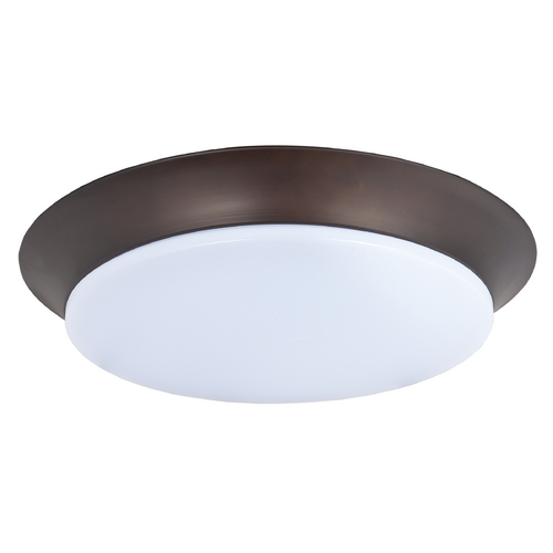 Maxim Lighting Maxim Lighting Profile Ee Bronze LED Flushmount Light 87598WTBZ