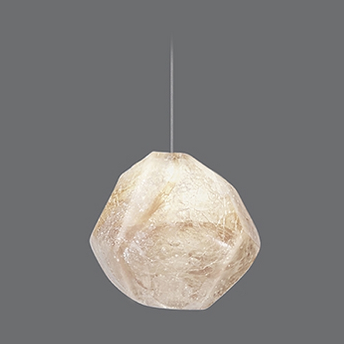 Fine Art Lamps Fine Art Lamps Natural Inspirations Silver Leaf Mini-Pendant Light 851840-10ST